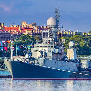 Navy Day in St Petersburg