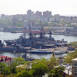 Navy Day in Vladivostok