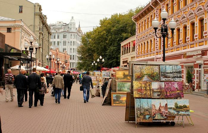 Old Arbat Street Guided Tour
