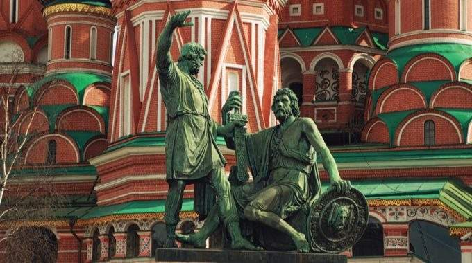 Two Capitals of Russia - Moscow - St Petersburg for Independent Travellers (CB-14)